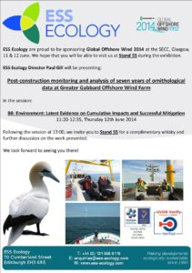 ESS Global Offshore Wind Conference & Exhibition 2014